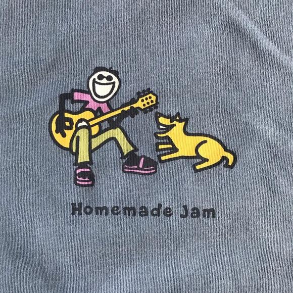 Life Is Good Tops - NWT Life Is Good Homemade Jam blue long sleeve